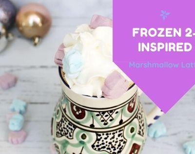Frozen 2 Inspired Marshmallow Latte