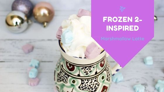 Frozen 2 Inspired Marshmallow Latte