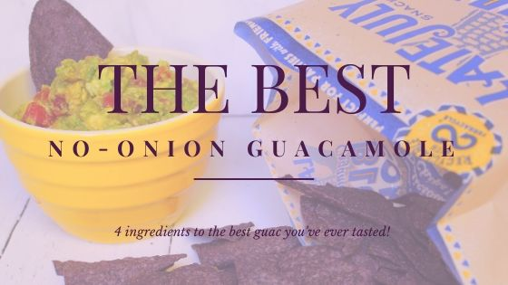 The BEST No-Onion Guacamole You've Ever Tasted