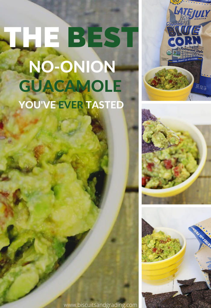 The Best No Onion Guacamole You've Ever Tasted