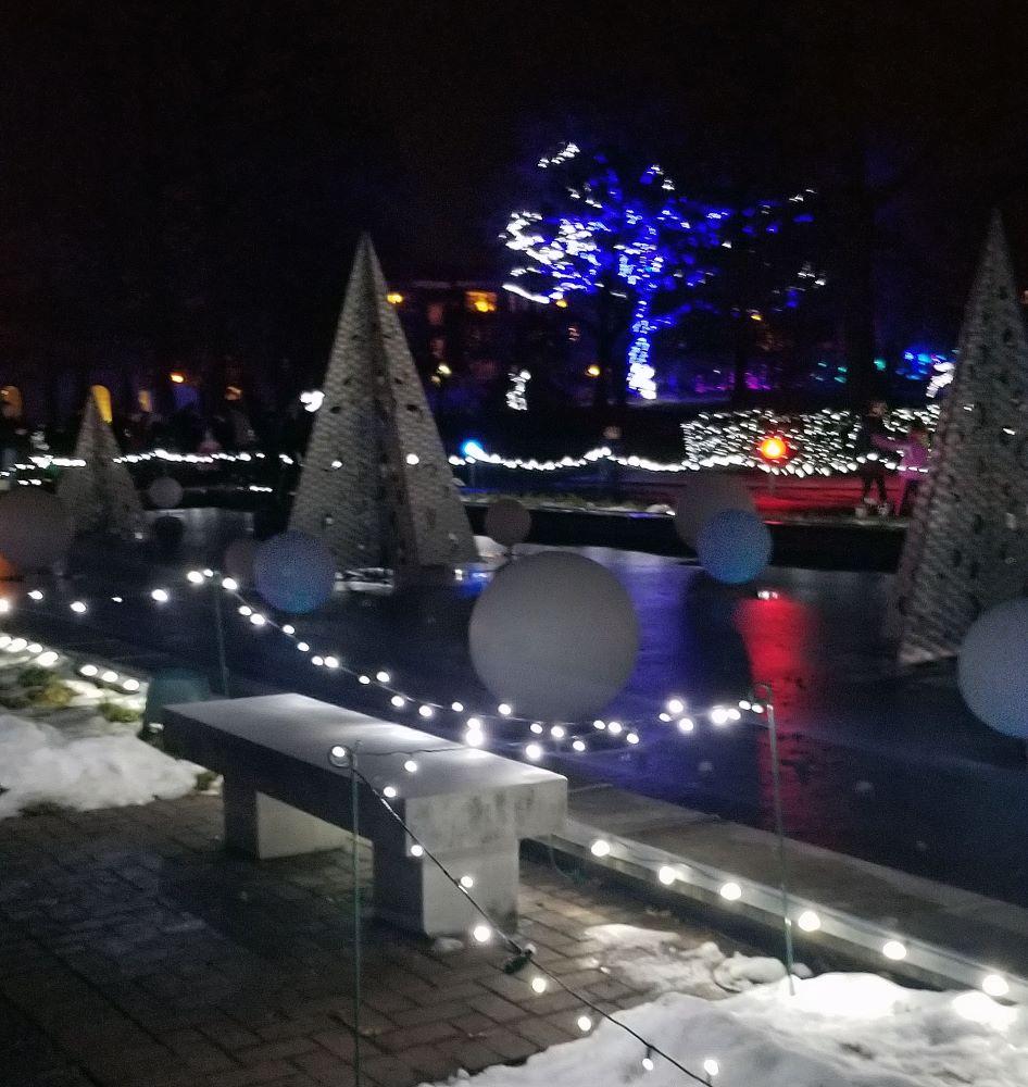 garden glow pond view 1