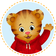 daniel tiger neighborhood logo