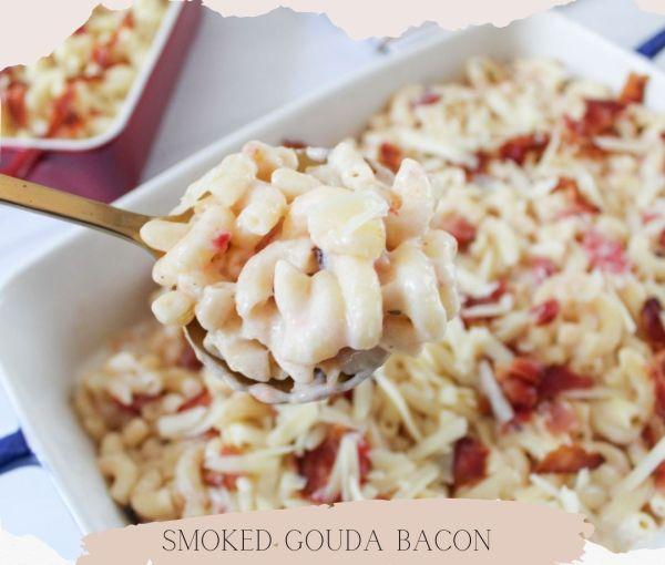Smoked Gouda Bacon Macaroni and Cheese