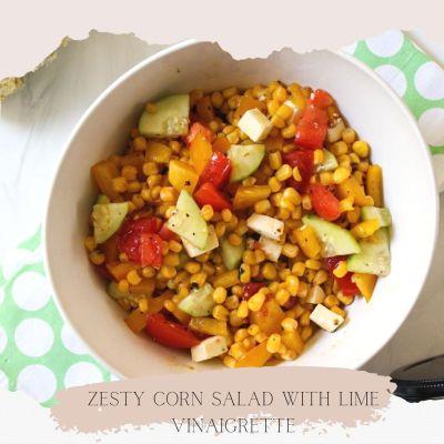 Zesty Cold Corn Salad