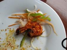 grilled tandoori shrimp
