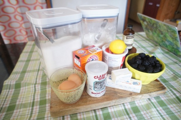 muffin list of ingredients