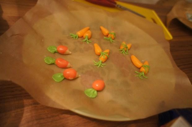 finished radishes