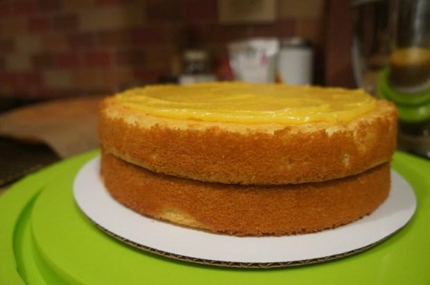 lemon curd 2 layer