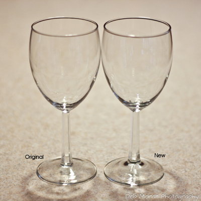 Old and New Wine Glasses