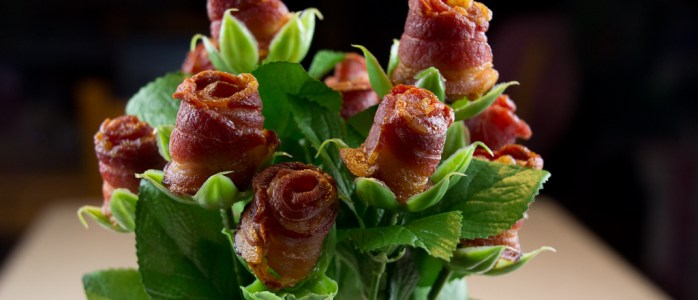 Bacon Rose Bouquet – Because I Love You