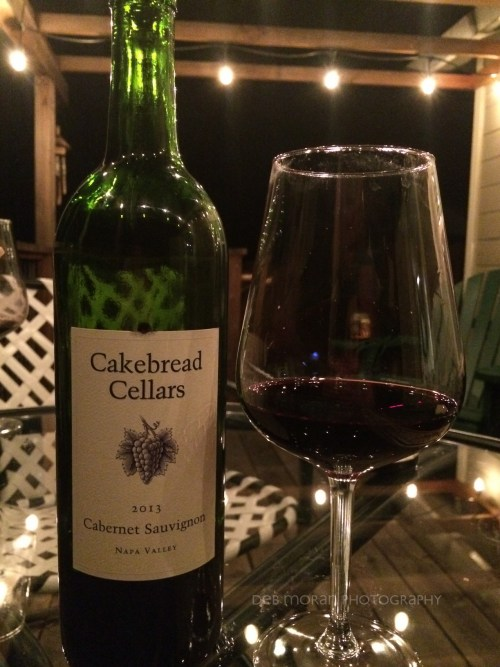 Yep. The cab paired very well with our grilled steak.