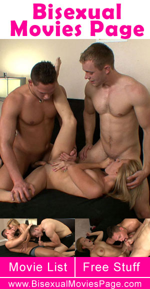 First Bisexual Threesome