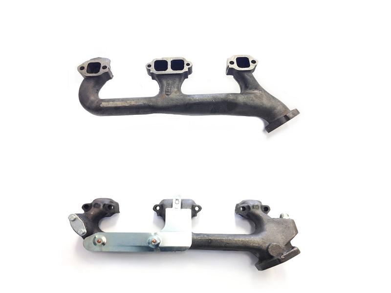 exhaust manifold pair 98 99 00 tahoe yukon 5 7l 350 1500 2500 pickup suburban