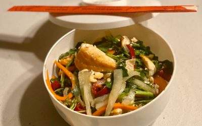 Vietnamese Salmon Salad