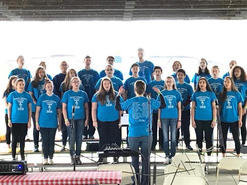 2018 bishop ludden choir - Concert Choir & Band