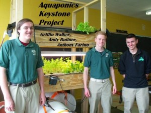 Aquaponics Keystone Project Griffin Andy Anthony 007 at bishop ludden 300x225 - Science
