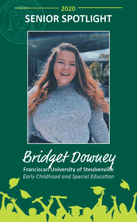 Bridget Downey - Congratulations Graduates