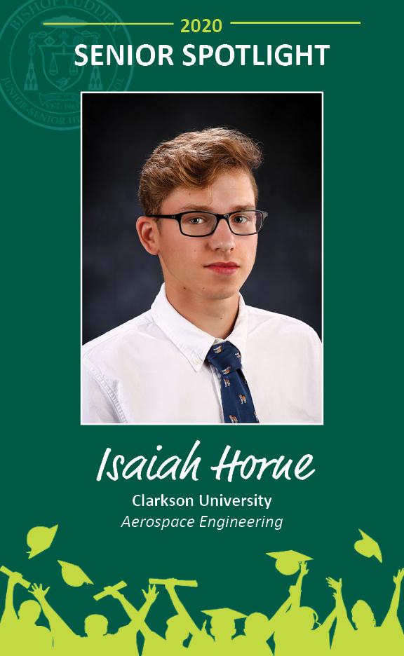 Isaiah Horne - Congratulations Graduates