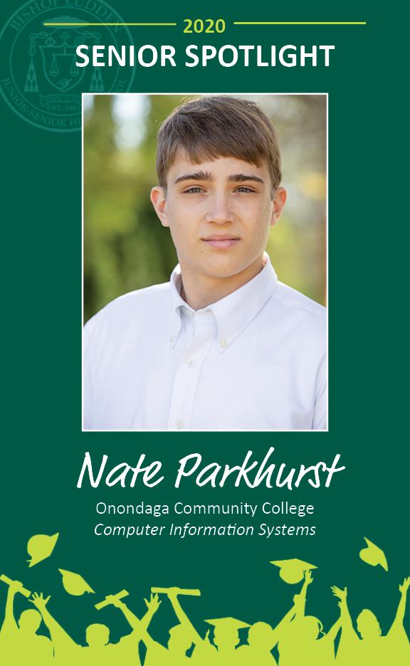 Nate Parkhurst - Congratulations Graduates
