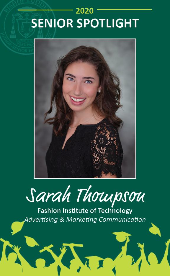 Sarah Thompson - Congratulations Graduates
