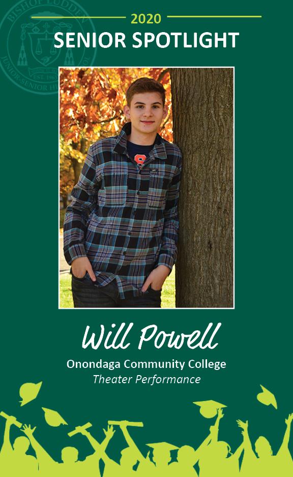 Will Powell - Congratulations Graduates