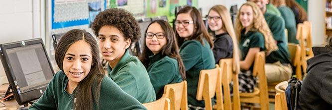 admissions bishop ludden catholic school syracuse - Students Return to School