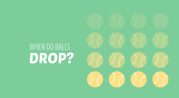 When do balls 'drop'?' - a lot of people think they know