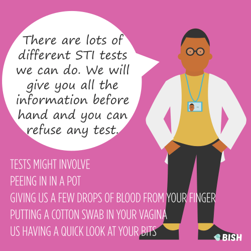 sexual health services STI tests