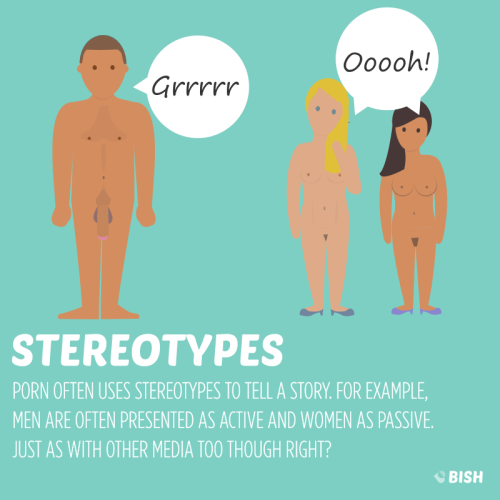 An Educational Guide to Porn Stereotypes