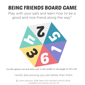 Being Friends Board Game - Bish