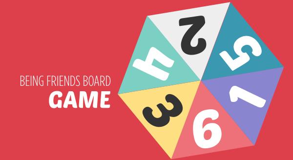 Being Friends Board Game Bish