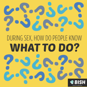 During sex how do people know what to do?