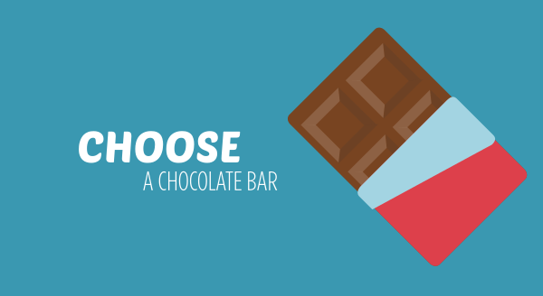 choose a chocolate bar