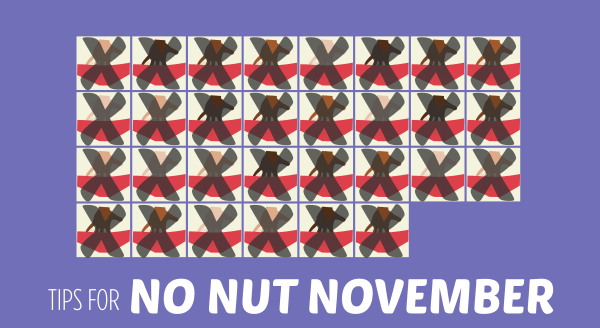 tips for no nut november
