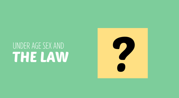 under age sex and the law
