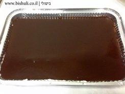 עוגת שכבות קצפת ושוקולד - הכנה 5