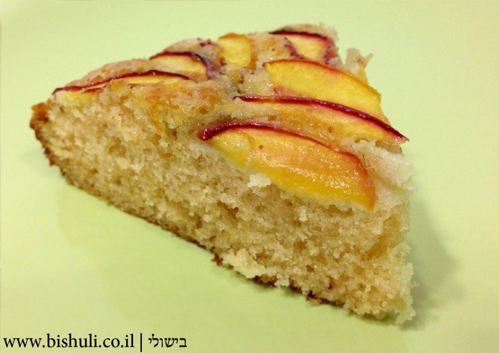 עוגת אפרסקים