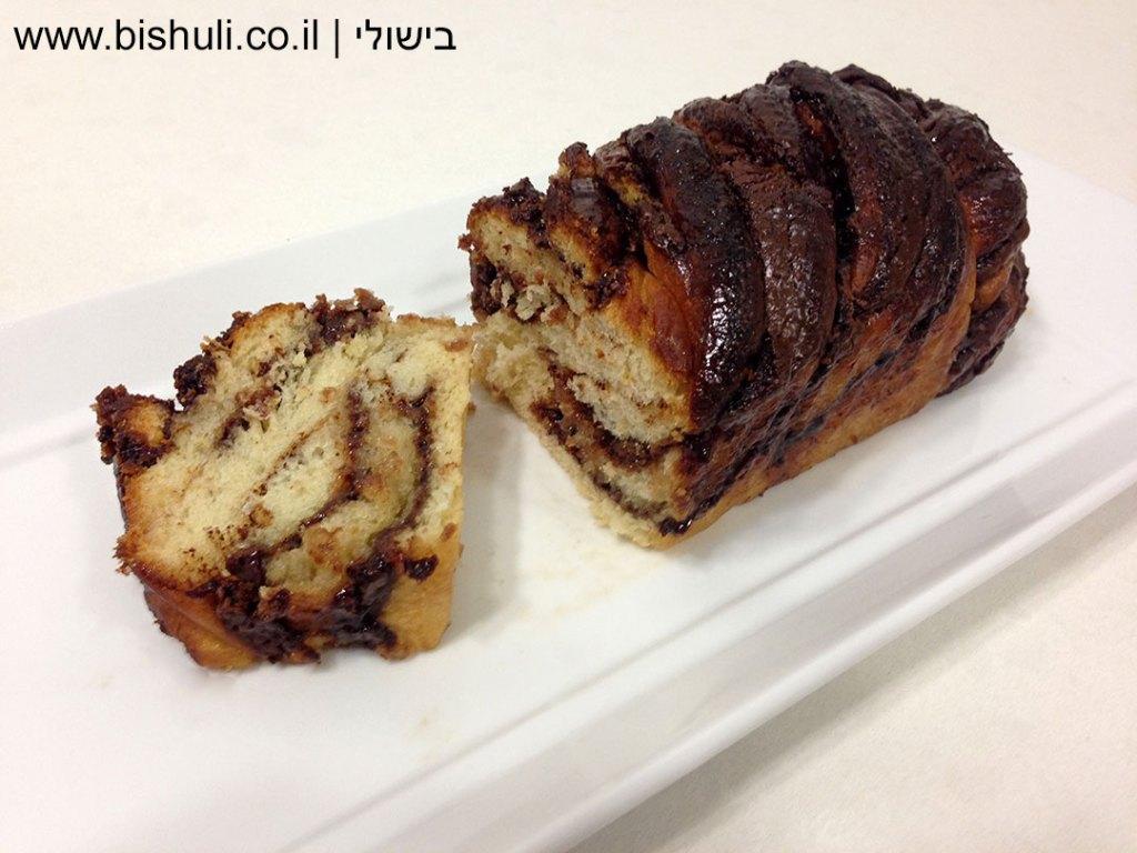 עוגת שמרים פרווה - מבט מקרוב