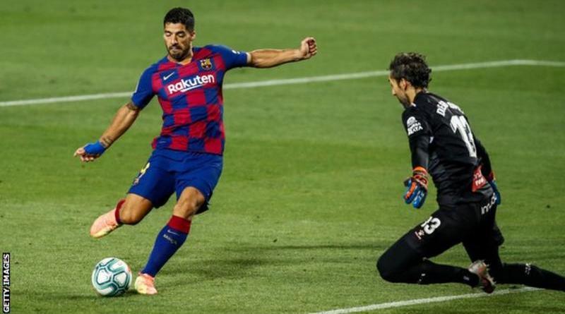 सुअरेजको सानदार गोलमा बार्सिलोना विजयी