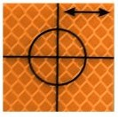 Cible de précision – 40 x 40 mm – 24 pièces