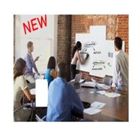 BOARD-UP – Tableau blanc – XL-Whiteboard 75 x 75 cm