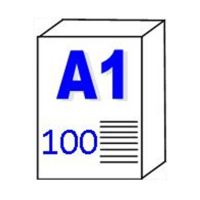 Papier pour traceur et Imprimante «Transparent» 90gm2 – A1