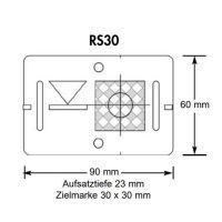 Plaquette de mesure avec cible COMBI (RS31) – gris