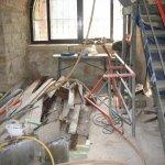Sanierungsarbeiten Bismarckturm Weißenfels 2008 - Innenbereich 2