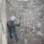 Sanierungsarbeiten Bismarckturm Weißenfels 2006 - Innenbereich