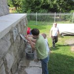 Sanierungsarbeiten 2012 - Verfugungen