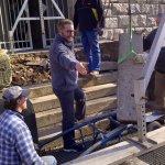 Sanierungsarbeiten 2012 - Treppe