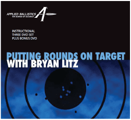 Putting Rounds on Target with Bryan Litz 3 DVD Set