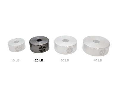 Paramount ME/ME II/MX/MX+/MYT 1.5 in. Bore 20 lb. Counterweight