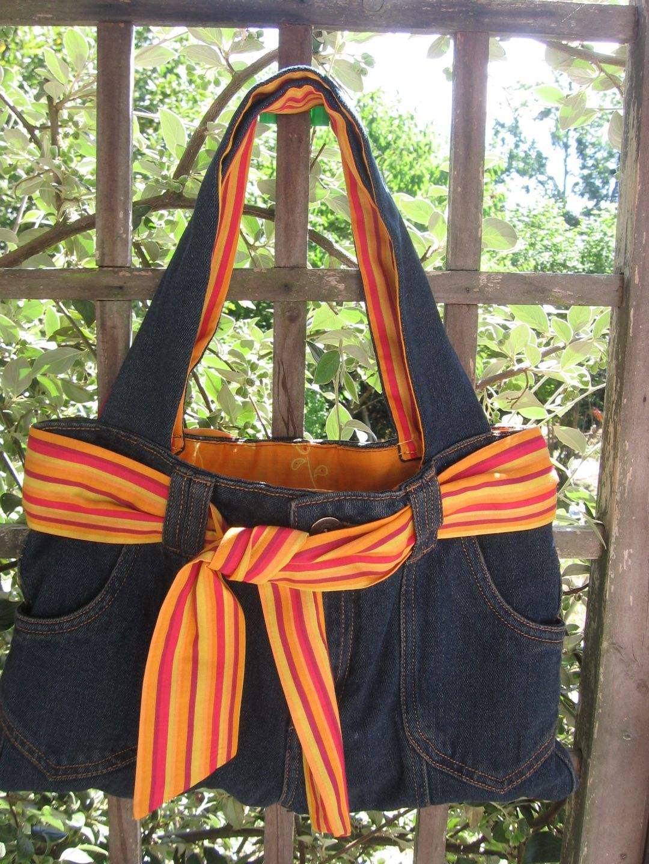 sacs main originaux recycler son vieux jean en sac main sac main pas cher. Black Bedroom Furniture Sets. Home Design Ideas